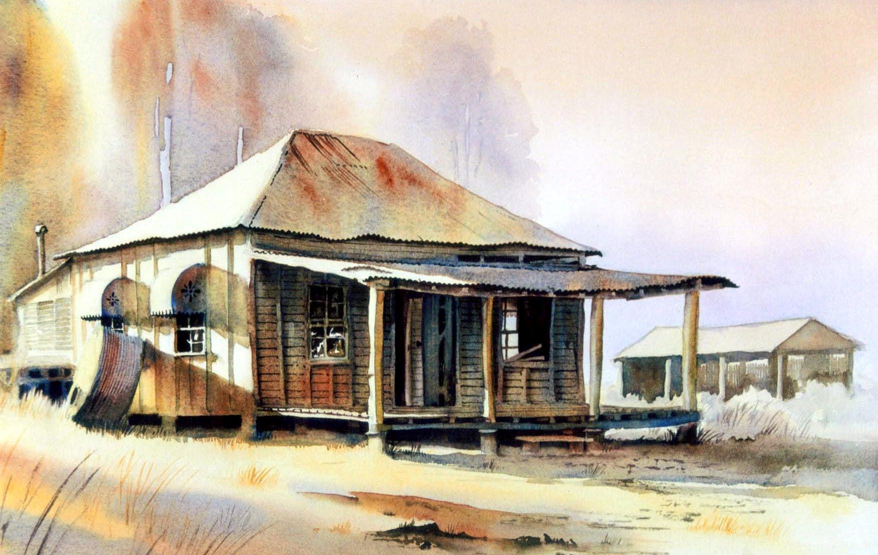 John newman australian watercolour artist and teacher for Classic house djs