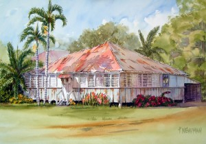 A great example of traditional  Queensland houses.