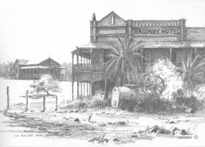 The Railway Hotel, Ravenswood N.Q 1